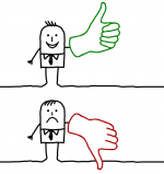 thumbs up or thumbs down, candor is required