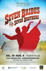 seven brides for seven brothers poster design