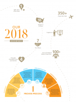 infographic illustration for year in review