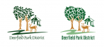 Deerfield Park District old and new logo