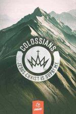 Bible study, book of Colossians, cover design