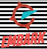Logo design final selection for Embark
