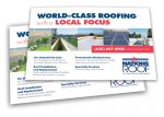 marketing design for commercial roofing company