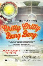 Poster design for Chitty Chitty Bang Bang