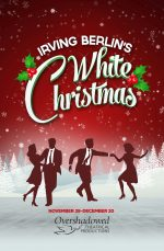 Poster design for White Christmas