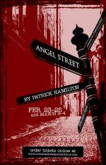 Poster design for Angel Street
