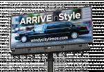 billboard ad design for limo company
